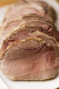 Roti de porc basse temperature