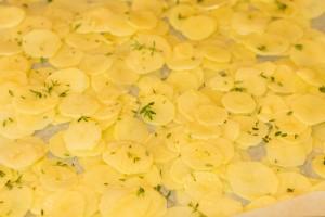 Roti d'agneau au foin et ses légumes printaniers 3
