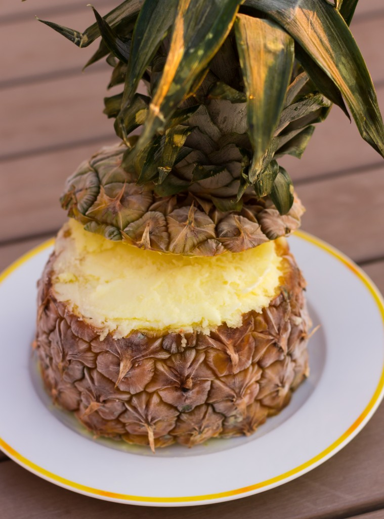 Sorbet ananas