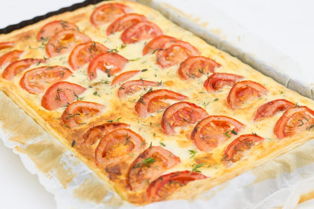 Tarte thon tomates
