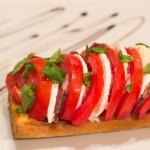 Bruschetta tomate mozzarrela