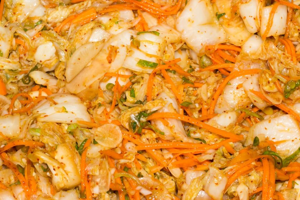 Kimchi mélangé