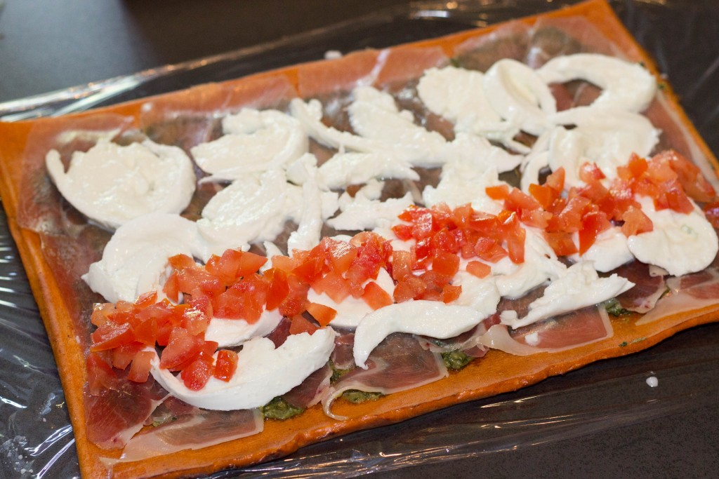 Roulé tomates mozarella 3