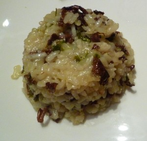 risotto actifry giroles